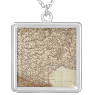 France S, Corsica Silver Plated Necklace