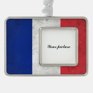 France Silver Plated Framed Ornament