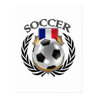France Soccer 2016 Fan Gear Postcard