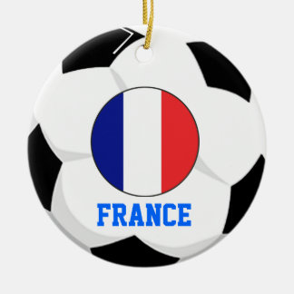 France Soccer Fan Ornament 1998 World Cup Champs