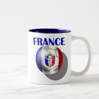 France soccer gear for French football fans Coffee Mug
