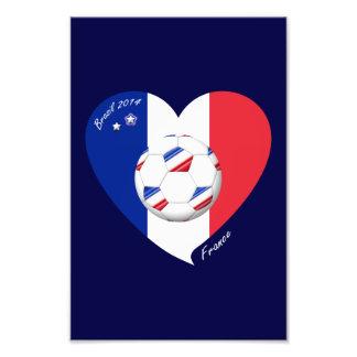 """""""FRANCE"""" Soccer Team. Soccer of France 2014 Art Photo"""