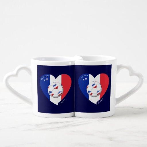 """""""FRANCE"""" Soccer Team. Soccer of France 2014 Lovers Mugs"""