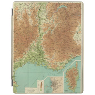 France southeastern section Corsica Marseille iPad Cover