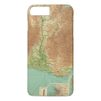 France southeastern section Corsica Marseille iPhone 8 Plus/7 Plus Case