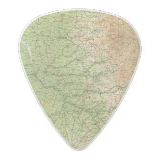 France southwestern section Bordeaux Acetal Guitar Pick