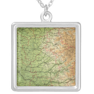 France southwestern section Bordeaux Silver Plated Necklace