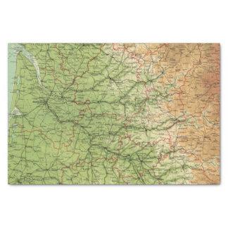 France southwestern section Bordeaux Tissue Paper