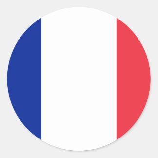france round sticker