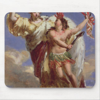 France Sustaining America Mouse Mat