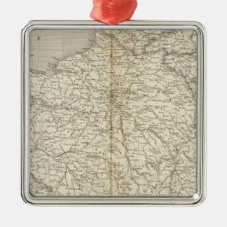 France, Switzerland and Belgium Christmas Ornament
