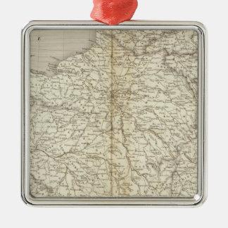 France, Switzerland and Belgium Christmas Ornament