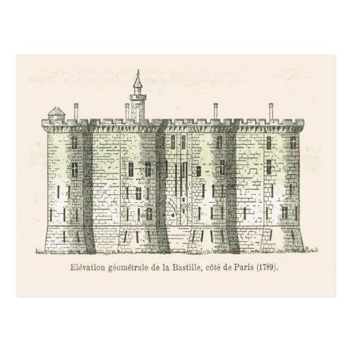 France,  The Bastille in 1789 Post Card