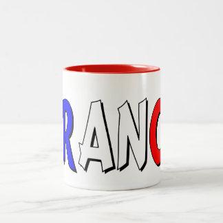 France Two-Tone Mug