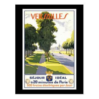 France Versailles Postcard