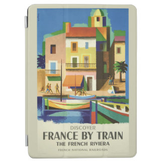FRANCE Vintage Travel device covers iPad Air Cover