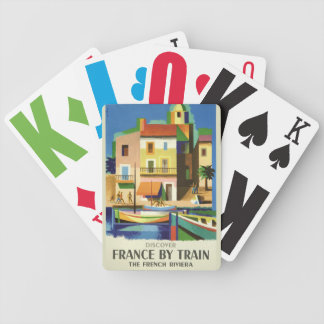 FRANCE Vintage Travel playing cards
