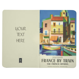 FRANCE Vintage Travel pocket journal