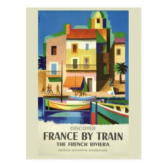 FRANCE Vintage Travel postcard