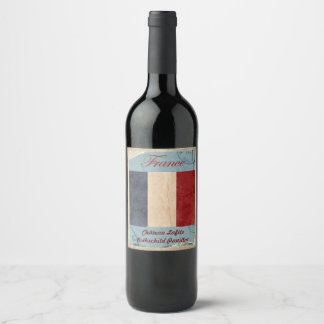 France Wine Label