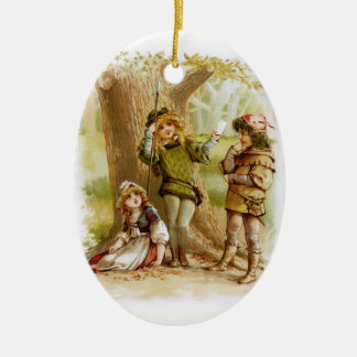 Frances Brundage: Celia, Rosalind, and Orlando Christmas Ornament
