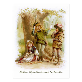 Frances Brundage: Celia, Rosalind, and Orlando Postcard