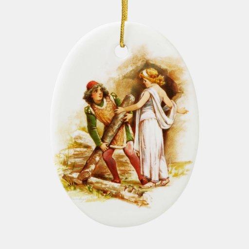 Frances Brundage: Ferdinand and Miranda Christmas Tree Ornament