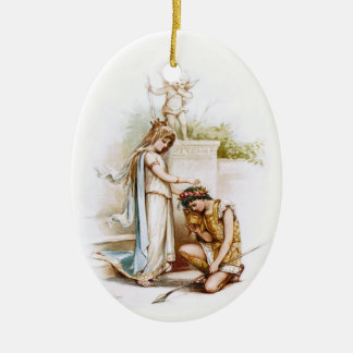 Frances Brundage: Princess Thaisa and Pericles Christmas Ornament