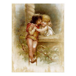 Frances Brundage: Romeo and Juliet Postcard