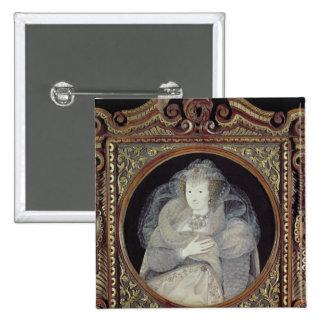 Frances, Countess Howard 15 Cm Square Badge