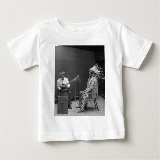 Frances Densmore Audio Recording Blackfoot Chief Baby T-Shirt