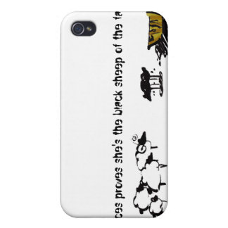 Frances the Black Sheep iPhone 4 Cases