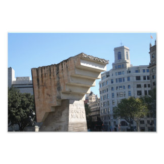 Francesc Macià monument, Barcelona Photo Art