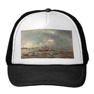 Francesco Guardi- Outward Voyage of the Bucintoro Trucker Hat