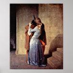 Francesco Hayez - The Kiss Posters