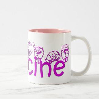 Francine Two-Tone Mug