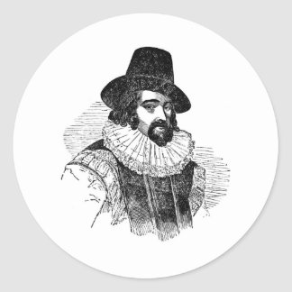 Francis Bacon Classic Round Sticker