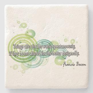 Francis Bacon Stone Coaster
