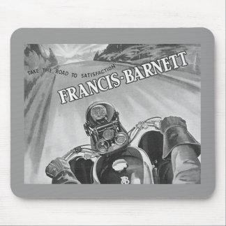 francis barnett motorcycle mouse mat