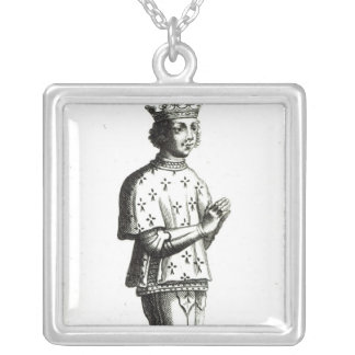 Francis II  Duke of Brittany Silver Plated Necklace