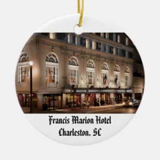 Francis Marion Hotel Christmas Ornament