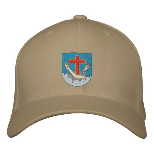 Franciscan coat of arms embroidered hats