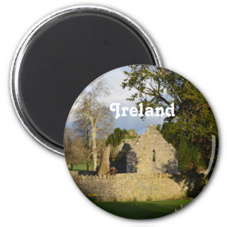 Franciscan Friary 6 Cm Round Magnet