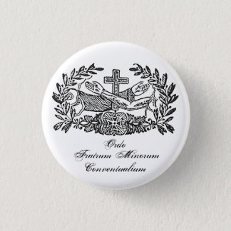 Franciscan Order 3 Cm Round Badge