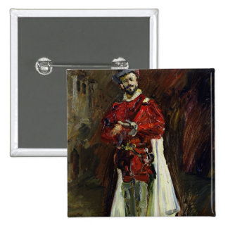 Francisco D'Andrade  as Don Giovanni, 1912 15 Cm Square Badge