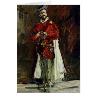 Francisco D'Andrade  as Don Giovanni, 1912 Greeting Card