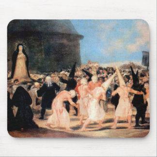 Francisco de Goya - Geissler procession Mousepad