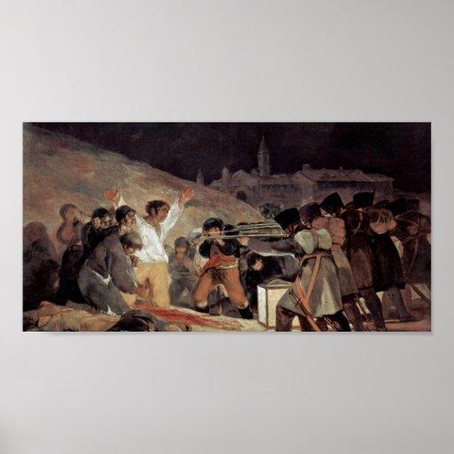 Francisco de Goya - The Third of May Poster