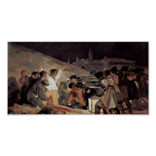 Francisco de Goya - The Third of May Poster