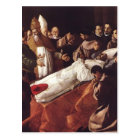 Francisco de Zurbaran-The Death of St. Bonaventura Postcard